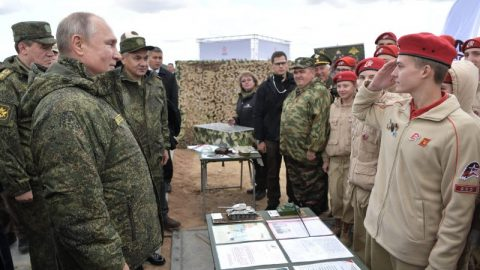 Putin's  call-up for military people in reserve is a serious threat to Ukraine