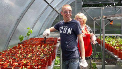 Inclusive Greenhouse opened in Vinnytsia Region