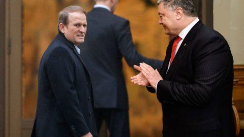 Former President of Ukraine Poroshenko is suspected of high treason